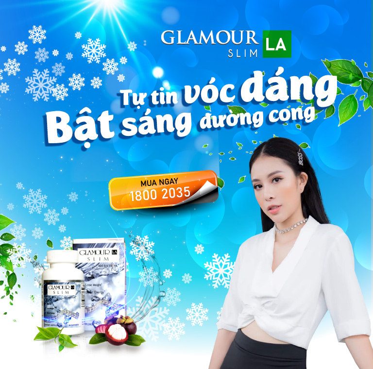 Khuyến mại giảm cân Glamour La Slim