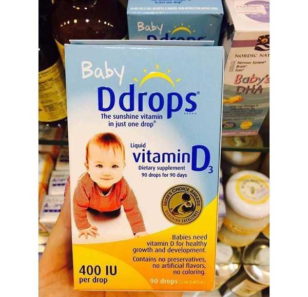 baby drops vitamin d3 có tốt không, cách dùng vitamin d3 drops cho trẻ sơ sinh, vitamin d baby drops có tốt không, ddrops baby vitamin d liquid drops - 2.5ml, ddrops baby 400 iu vitamin d 90 drops 2.5ml.