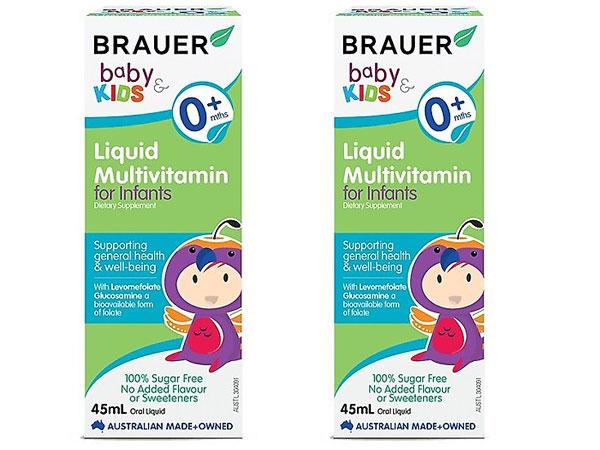 Đối tượng sử dụng Brauer Baby & Kids Liquid Multivitamin