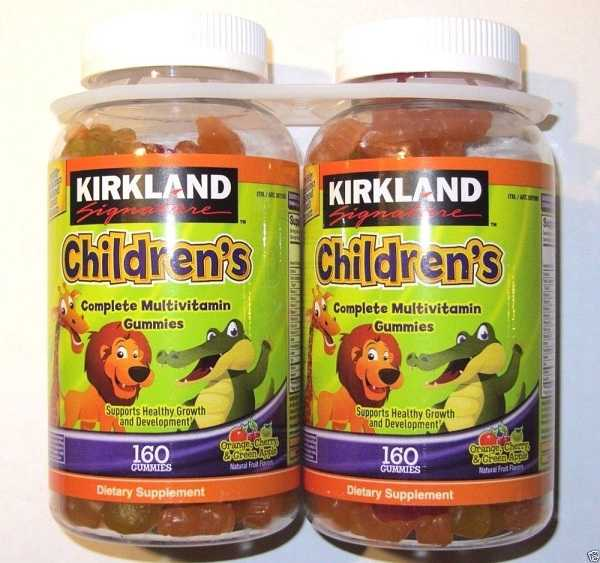 kirkland signature children's complete multivitamin 160 gummies giá bao nhiêu, kẹo dẻo kirkland organic vitamin của mỹ cho bé.