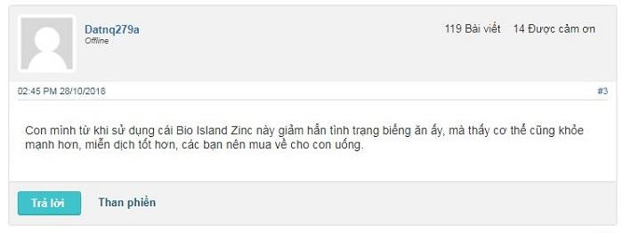 bio island zinc có tốt không review webtretho, thuốc kẽm bio island úc 120 chewable tablets, bổ sung kẽm bio island zinc cho trẻ của úc, giá bao nhiêu, cách dùng.
