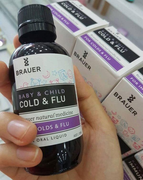 Đối tượng sử dụng Brauer Baby & Child Cold & Flu