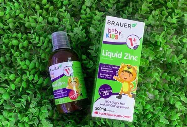 Đối tượng sử dụng Brauer Baby & Kids Liquid Zinc