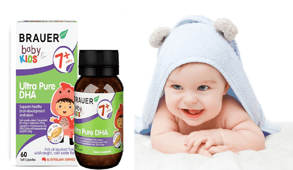 Brauer Baby & Kids Ultra Pure DHA 60 soft gels