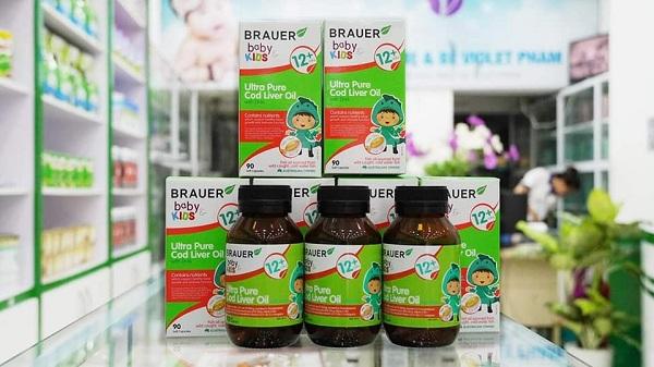 Đối tượng sử dụng Brauer Baby & Kids Ultra Pure Cod Liver Oil with DHA