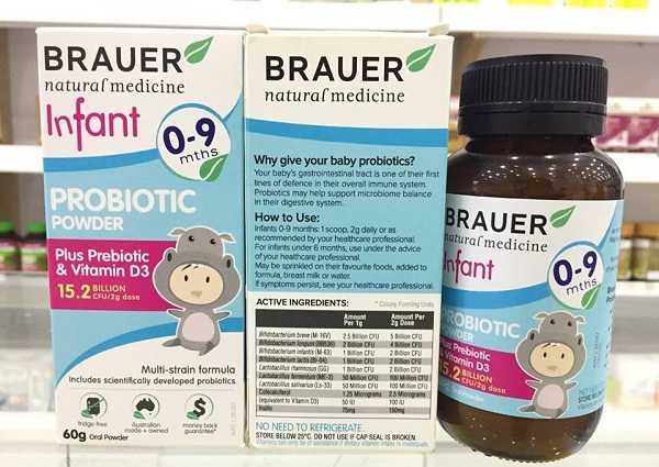 Brauer Infant Probiotic Powder