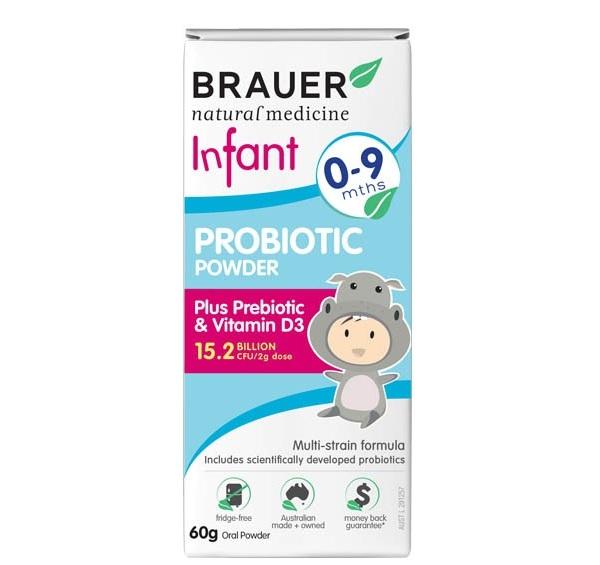 Đối tượng sử dụng Brauer Infant Probiotic Powder