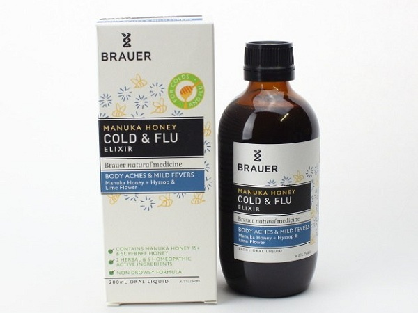 Brauer Honey Kids Cold & Flu 100ml