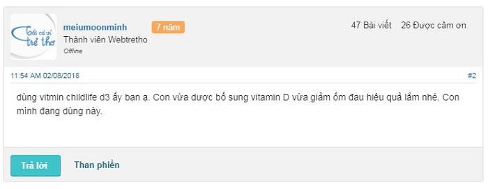 vitamin d3 childlife có tốt không, vitamin d3 của childlife organic reviews cách dùng.