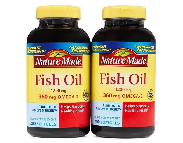 Dầu Cá Nature Made Fish Oil Omega 3 1200mg