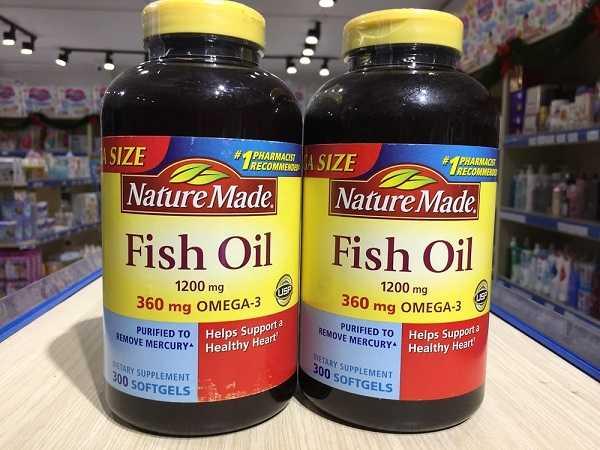 Dầu cá Nature Made Fish Oil có công dụng gì?