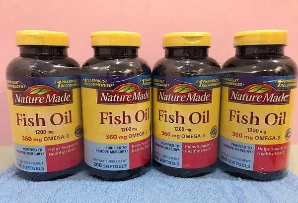 Dầu cá Nature Made Fish Oil sử dụng thế nào?