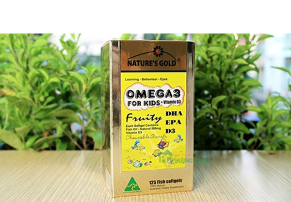 Dầu cá trẻ em Nature's Gold Omega 3 có tốt không, nature's gold omega 3 for kid