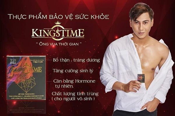 viên uống kingstime có tốt không, viên uống sinh lý nam kingstime, viên uống tăng cường sinh lý kingstime, review kingstime, Kingstime tăng cường sinh lý nam