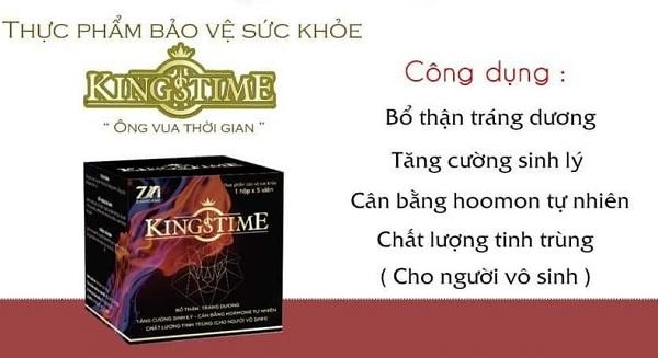 viên uống kingstime có tốt không, viên uống sinh lý nam kingstime, viên uống tăng cường sinh lý kingstime, review kingstime, Đối tượng sử dụng Kingstime