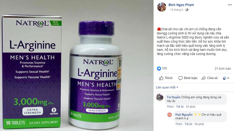 Viên uống Natrol L-Arginine 3000mg có tốt không, natrol l-arginine 3000mg, natrol l arginine 3000mg, natrol l-arginine 3000 mg reviews, natrol l arginine 3000 mg review, natrol l-arginine 3000mg 90 tablets, l-arginine 3000mg mua ở đâu, l arginine 3000mg natrol hộp 90 viên của mỹ, viên uống natrol l-arginine 3000mg của mỹ, natrol l arginine 3000mg 90 viên, thuốc l arginine 3000 mg, viên uống natrol l-arginine, viên uống natrol l-arginine 3000mg 90 viên của mỹ, thuốc natrol l-arginine 3000mg, viên uống tăng cường sinh lý nam l-arginine, thuốc tăng cường sinh lý natrol l-arginine, natrol l-arginine 3000mg có tốt không, review natrol l-arginine 3000mg, natrol l-arginine 3000mg review, thuoc l arginine 3000mg co tot khong, natrol l-arginine super strength 3000mg, Review viên uống tăng cường sinh lý nam Natrol L-Arginine 3000mg, Có nên sử dụng sản phẩm này không?