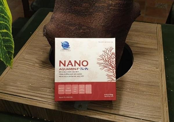 nano aquamin-f tảo đỏ, aquamin f là gì, nano aquamin-f, thành phần aquamin f, aquamin f có tác dụng gì, aquamin-f táo đỏ