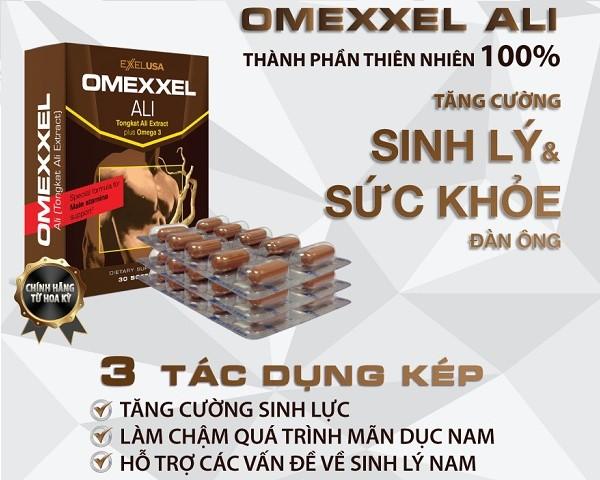 omexxel ali, viên uống omexxel ali, viên uống tăng cường sinh lý nam omexxel ali, thực phẩm chức năng omexxel ali, tăng cường sinh lý nam giới omexxel ali