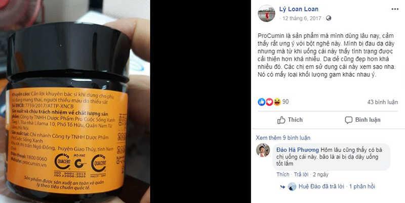 Feedback của khách hàng về Pro-cumin