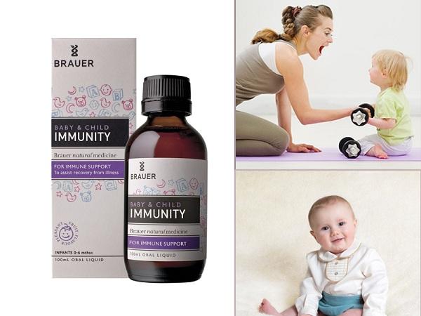 brauer immunity review, brauer baby & child immunity 100ml support, vitamin tăng sức đề kháng cho bé của úc,tăng đề kháng brauer có tốt không, siro brauer immunity support, thuốc tăng đề kháng cho trẻ của úc, thuốc brauer immunity.