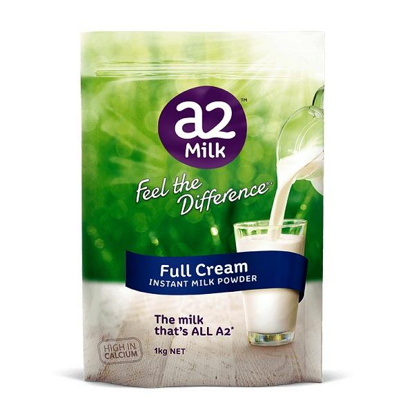 sữa a2 có tốt không webtretho, của úc, nguyên kem, có tăng cân không, là gì, cho bé mấy tuổi, giá bao nhiêu, sữa the a2 milk company, có mấy loại, full cream milk, có tác dụng gì, tăng chiều cao, có béo không, mua ở đâu, pha thế nào