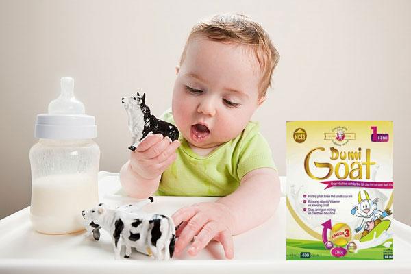 Đối tượng sử dụng sữa dê Dumi Goat 1