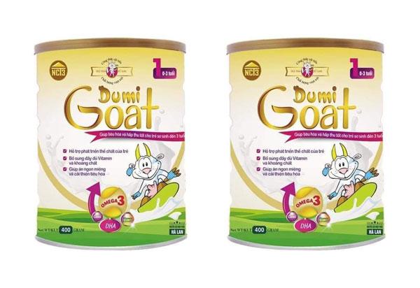 Công dụng của sữa dê Dumi Goat 1