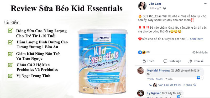 sữa kid essentials nestle có tốt không, sữa kid essentials reviews, sữa kid essentials hàng xách tay, cách pha sữa kid essentials nestle, phản hồi sữa kid essentials, sữa kid essentials nestle cách pha, sữa tăng cân kid essentials, sữa kid essentials nestle (800g) (vani), sữa kid essentials pha sẵn