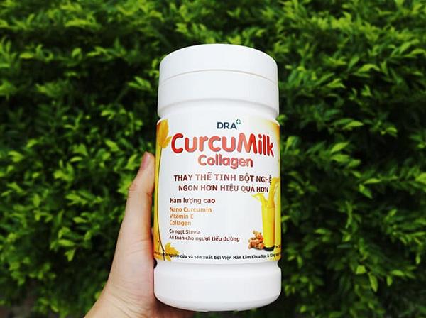 Sữa nghệ Curcumilk sử dụng thế nào?