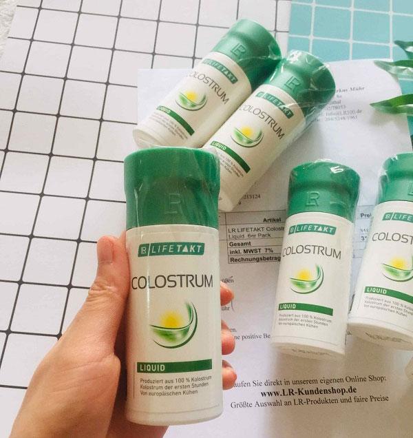 Công dụng của sữa non colostrum nội địa Đức