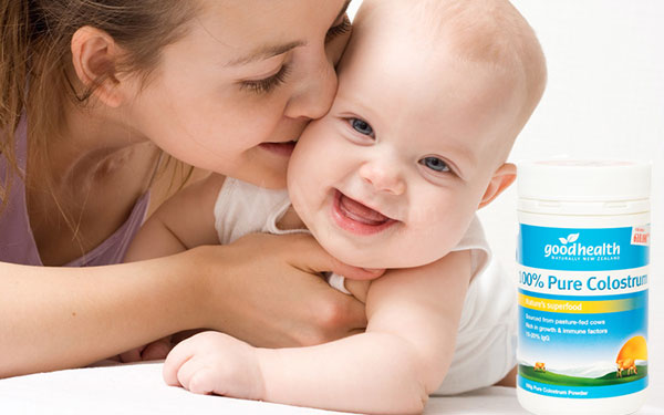 Công dụng của sữa non Goodhealth 100%