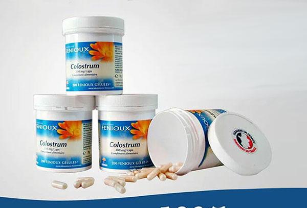 Công dụng của sữa non Pháp Fenioux Colostrum