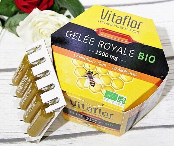 Công dụng của sữa ong chúa Vitaflor Bio