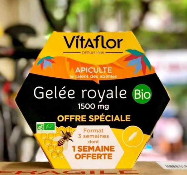 Cách sử dụng sữa ong chúa Vitaflor Bio