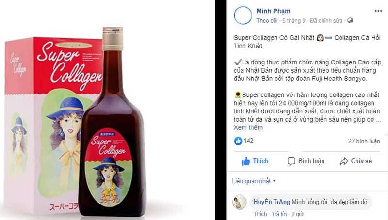 Feedback của khách hàng về Super Collagen