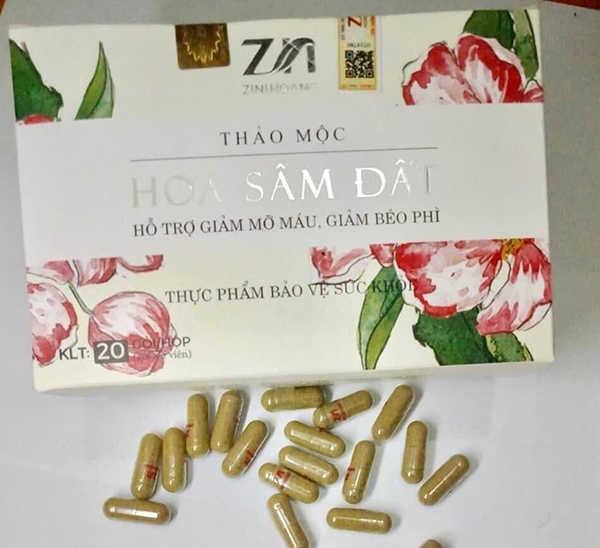 Thảo mộc hoa sâm đất sử dụng thế nào?