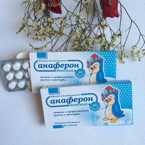 Công dụng của viên Anaferon