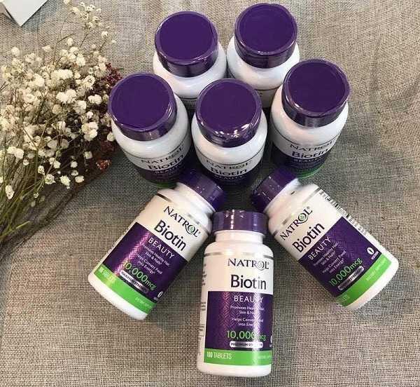 Công dụng của viên uống Natrol Biotin