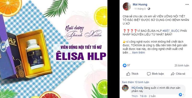 viên uống nội tiết tố nữ Elisa HLP có tốt không, viên uống bổ sung nội tiết tố nữ, uống nội tiết tố nữ có tốt không, êlisa, thực phẩm chức năng elisa hlp, nội tiết tố nữ elisa hlp, viên uống nội tiết elisa,
