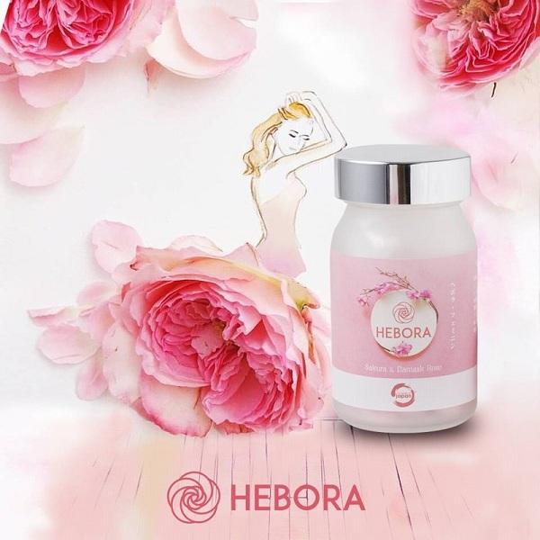 Công dụng của viên uống thơm cơ thể Hebora