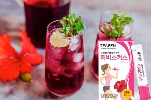 [Review] Trà giảm cân Teazen Hàn Quốc có tốt không? Giá bao nhiêu?