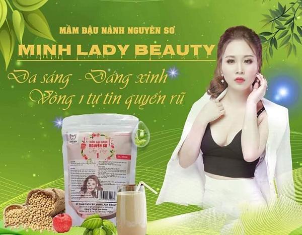 Mầm đậu nành Minh Lady có tốt không? Giá bao nhiêu? Review chi tiết 2019