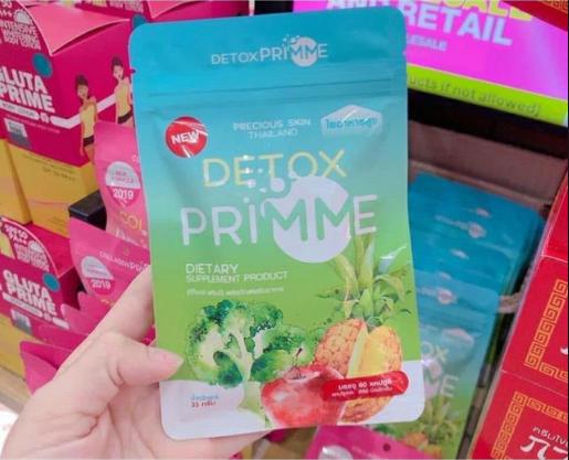 Review thuốc giảm cân Detox Prime Thái Lan có tốt không? Cách sử dụng Detox Prime Thái Lan hiệu quả