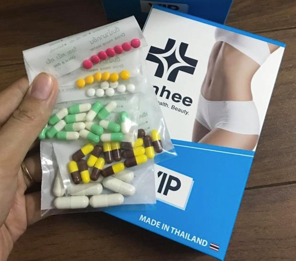 Review thuốc giảm cân Yanhee Thái Lan có tốt không, giá bao nhiêu?