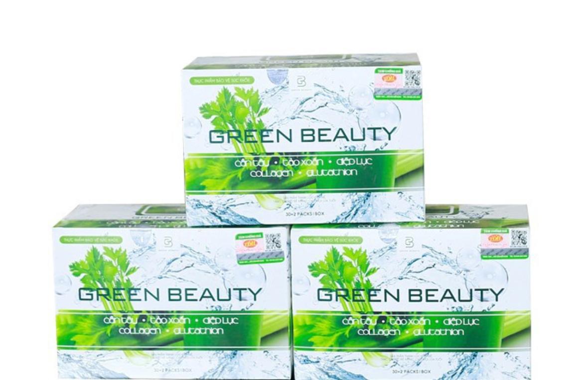 Nước ép cần tây Green Beauty có tốt không, giảm cân không webtretho
