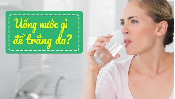 Uống gì để trắng da từ bên trong hiệu quả chỉ sau 1 tuần?
