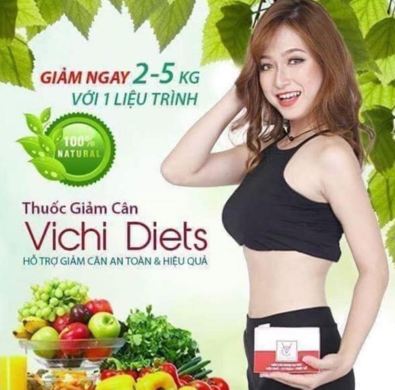 Review thuốc giảm cân Vichi Diets có tốt không, giá bao nhiêu?