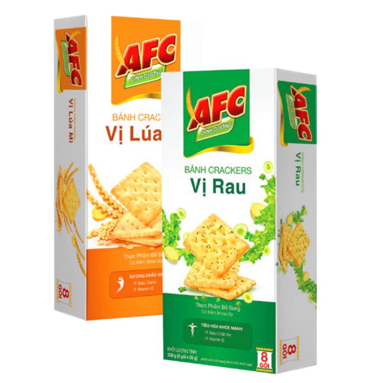 1 gói bánh AFC chứa bao nhiêu calo? Ăn bánh AFC có giảm cân không?
