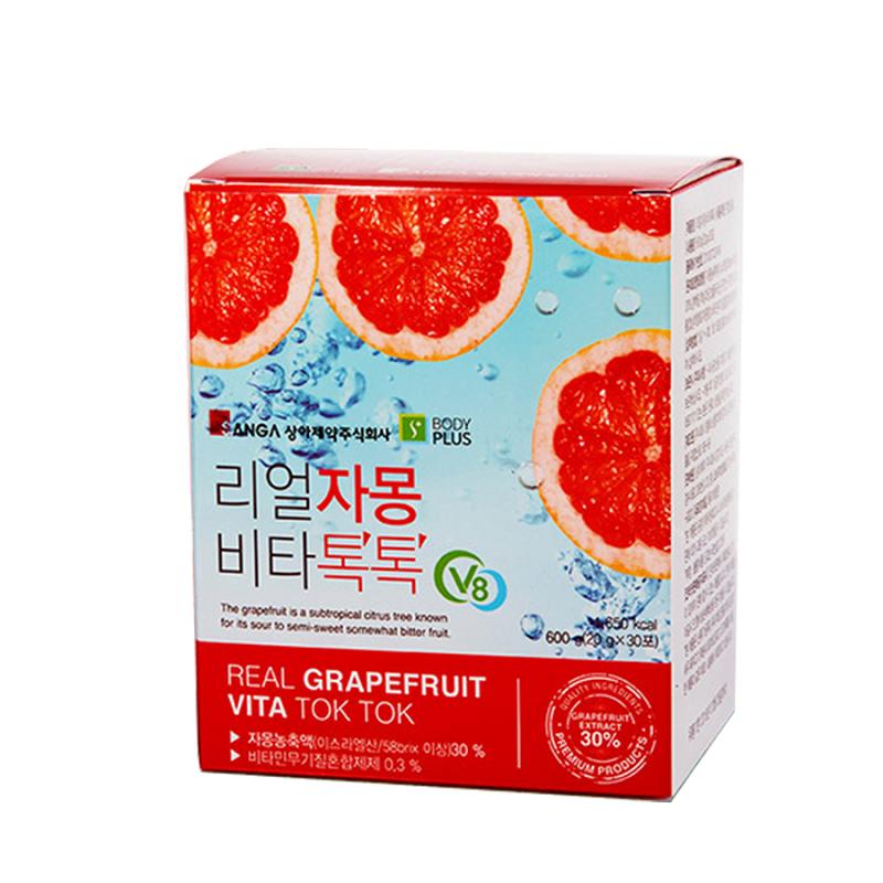Review trà bưởi giảm cân Hàn Quốc Sanga có tốt không? Cách uống trà bưởi giảm cân Hàn Quốc chuấn nhất