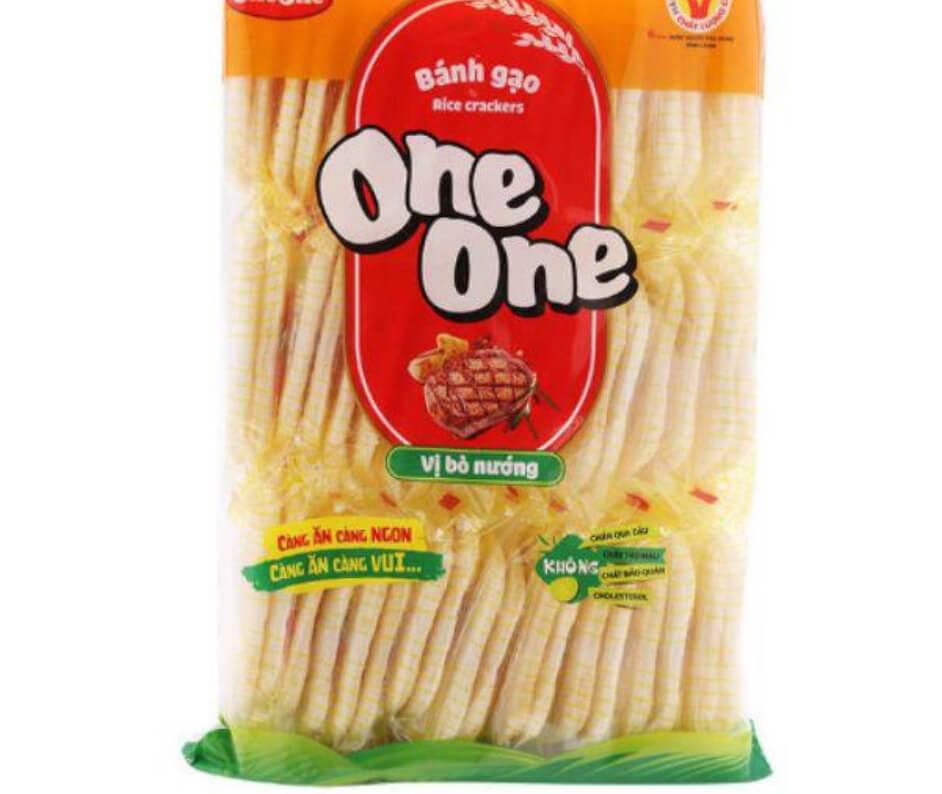 1 cái bánh gạo One One bao nhiêu calo? Ăn bánh gạo có béo không?